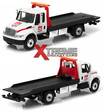 GREENLIGHT 29824 1:64 2015 INTERNATIONAL 4400 VERIZON INDYCAR FLATBED TOW TRUCK