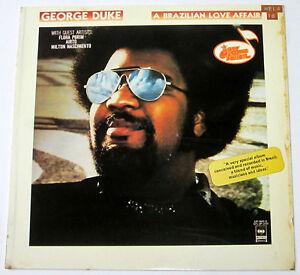 Philippines GEORGE DUKE A Brazilian Love Affair LP Record