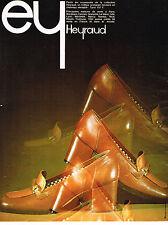 PUBLICITE  1974   HEYRAUD   chaussures