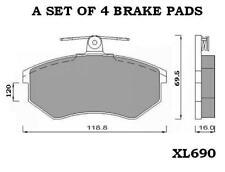 SEAT TOLEDO INCA LCV 1.4 1.8 1.9 2.0 D FRONT BRAKE PADS