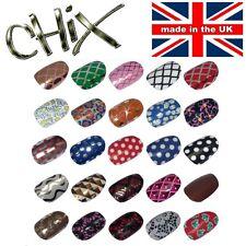 Salon Quality Professional NAIL WRAPS Foils Stickers Vinyl Print Beauty Tip UK 4