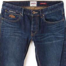 Mens SuperDry LOOSE Relaxed Blue Jeans W32 L34