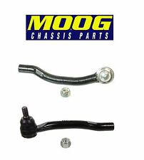 For Acura MDX Honda Pilot Set of 2 Front Outer Left & Right Tie Rod Ends Moog