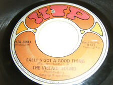 1968 Garage Rock 45 VILLAGE SOUND Sally's Got A Good Thing / La La Song HIP 8003