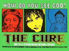 "The Cure Cynthia Woods 16"" x 12"" Photo Repro Concert Poster"