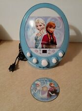 Disney FROZEN Elsa & Anna CD Player Karaoke Machine With CD No Microphone Works