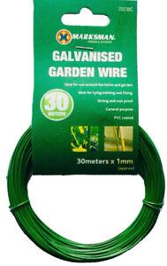 Multi Purpose Green Garden Wire 1mm x 30m