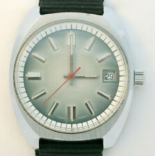 Vintage 1970s LENCO SWISS Mecanical Watch - FULLY SERVICED! - New NATO Strap