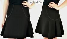 NEXT UK 6 BLACK SKIRT TAGGED £28 LADIES FIT AND FLARE WORKWEAR SKIRT 999