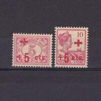 NETHERLANDS INDIES 1915, Sc# B2-B3, Semi-Postal, part set, MH