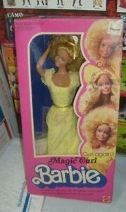 Mattel 1981 #3856 Barbie Magic Curl Brand New in box