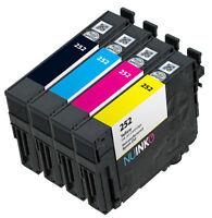 4PK Remanufactured for Epson 252 Ink Cartridge WorkForce WF-3620 WF-3640 WF-7110
