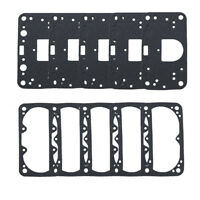 Fuel Bowl Gaskets, Black Non-Stick, Fit Holley 2300/4150/4160/4500, 10 Pack