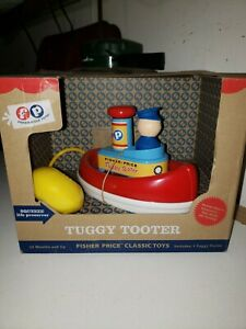 Fisher-Price Tuggy Tooter Toy REPRODUCTION