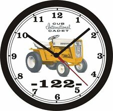 INTERNATIONAL CUB CADET 122 WALL CLOCK-NEW!