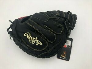 "Rawlings RCM325BB Catcher's Mitt / Glove - 32.5"" / LHT"