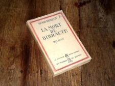 la mort de Bibracte 1930 Henri Bachelin roman paganisme Gaulois Eduens