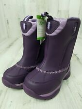 Winter Snow Boots Baby Infant Girl 9 Months Purple LANDS END Thermolite NWT