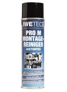 Iwetec PRO M Montagereiniger 500 ml Reiniger Maschine Reinigung Entfetter