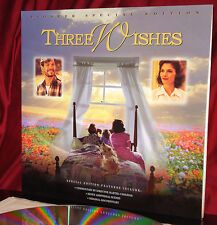 'THREE WISHES' on WS Pioneer Special Edition 12-Inch Laser Disc - Mint
