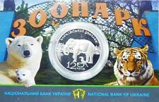 Ukraine - 2 Hryvni 2015 UNC 120 Years of Kharkiv Zoo in Booklet Lemberg-Zp