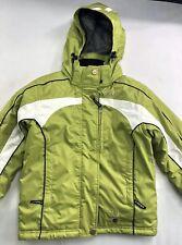 Spyder XTL 10K Kids Youth Hooded Ski Snowboard Jacket Size 10 Insulated