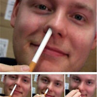 Magic Trick Disappear Cigarette Cigarettes Into The Nose Magic Props Toys 8.7cm