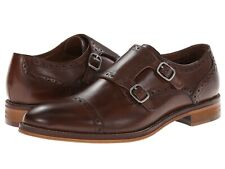 Men's Johnston & Murphy Conard Double Monk Strap Cap-Toe Loafe, 20-8683 Mahogany
