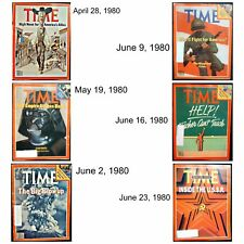 Time Magazines - Used Issues 1980 - 1988 - 47 Different Dates