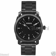 Fossil Original FS4774 Men's Machine Smoke Stainless Steel Watch 42mm