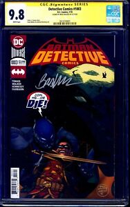 Detective Comics #1003 CGC SS 9.8 signed by Brad Walker BATMAN ARKHAM KNIGHT