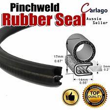 6M Side Bulb Pinchweld Car Rubber Seal Trim Strip Door Hood Trunk Edge Protector