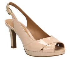 Clarks Women's Slim Heel Sandals and Beach Shoes