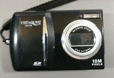 VISTA QUEST VQ124 Black Digital Camera - 10MP