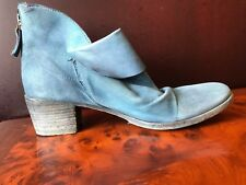 Used gidigio Blue Ankle Boots