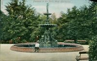 Fountain in the Park West Hartlepool QV.506