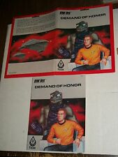 Vintage FASA Star Trek Role Playing Game DEMAND OF HONOR Adventure 2207