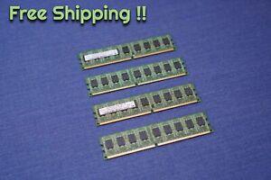 LOT of 4 Hynix 2GB HYMP125U72CP8-Y5 AB PC2-5300E DDR2 ECC Server Memory RAM