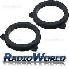 """Toyota Auris 2007> 165mm 6.5"""" MDF Front Speaker Adaptors / Rings / Spacers"""