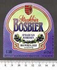 Beer Label - St. Jozef Brewery- Belgium - Bosbier