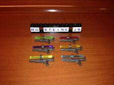 Lego® Star Wars™ 6x Betäubungsgewehr Laserschwert 6 Farben Waffe Blaster Dino W8