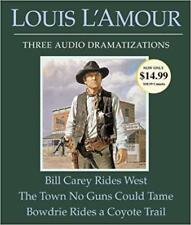 Bill Carey Rides West/The Town No Guns Could Tame/Bowdrie Rides a Coyote-AudioCD