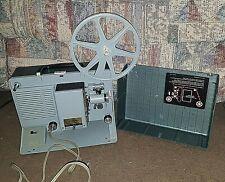 Vintage Argus Showmaster S500 Movie Projector~Works & Lights Up~Includes Reel