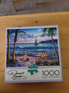 Darrell Bush Coastal Twilight Buffalo Jigsaw Puzzle 1000 Pieces