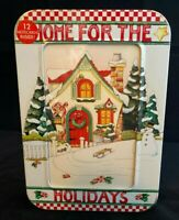 "MARY ENGELBREIT ""NOTEABLES"" COLLECTABLE MEMORY BOX ""HOME FOR THE HOLIDAYS"""