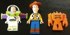 Lego Toy Story Mini-Figures - Woody, Buzz Lightyear, Chunk - Excellent Condition