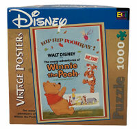 Buffalo Games Disney Winnie The Pooh Vintage Posters Jigsaw Puzzle 1000 Piece