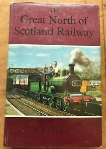 The Great North of Scotland Railway HA Vallance 1965 1st Dust Jacket