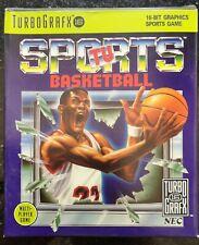 TV Sports Basketball - TurboGrafx - Boxed & New!