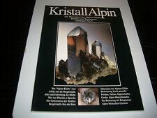 extraLapis 5 Kristall Alpin (Die Mineralien der Alpinen Klüfte) VERGRIFFEN!!